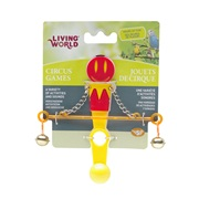 Living World Circus Toy, Balance, Red/Yellow