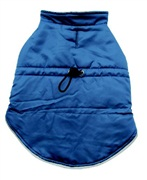 Dogit Fall/Winter 2010 Dog Clothing Collection - Winter Vest, Blue, XLarge