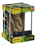 """Exo Terra Nano Tall Terrarium - 20 x 20 x 30 cm, 8"""" x 8"""" x 12"""""""