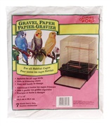 Living World Gravel Paper  8-pack 30 cm x 35.5 cm, Small