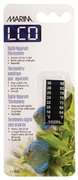 Marina LCD Aquarium Thermometer-Centigrade-Fahrenheit, 18 to 30° C (64 to 86° F)