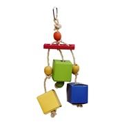 LW Festive Favors, Rope, Wood, Paper Box Toy 30 cm
