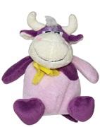 "Dogit Luvz Barnyard Friends Plush Dog Toy,Purple Cow (15cm/6"")"