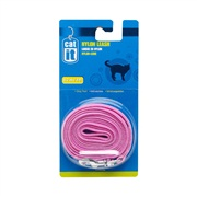 Catit Nylon Cat Leash, Pink (1.2m/4ft)