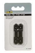 GLO Mounting Plates for T-5-8-10-12 bulb clips