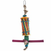 HARI Rustic Treasures Bird Toy Chopstick & Perch Foraging Tube - Large