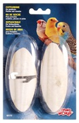 "Living World Cuttlebone with Holder Small - 12.5 cm (5"") Twinpack"