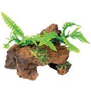 Marina Naturals Malaysian Decorative Driftwood with Plants, Small
