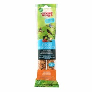 Living World Finch Sticks, Vegetable Flavor, 60 g (2 oz),2-pack
