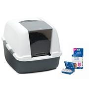 Catit Magic Blue Litter Box - Jumbo