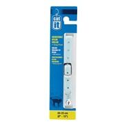 "Catit Buckle Nylon Cat Collar, Blue. Size: 9.5mm (3/8"") x 20cm-33cm (8-13"")."