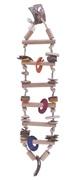 Living World Nature's Treasure Bird Toy Bamboo Ladder, For small & medium hookbills