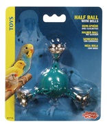 Living World Classic Plastic Half Ball With Bells