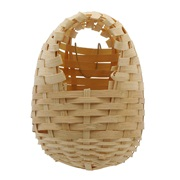 Living World  Bamboo Bird Nest for Finches, Large