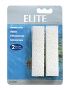 Elite Sponge Filter Replacement, 2 pack