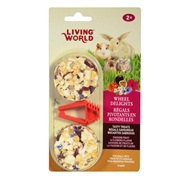 Living World Wheel Delights, Passion Fruits/Flowers, 2-pack