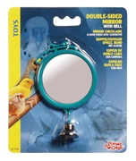 "Living World Double-sided Mirror with Bell Large 7 cm  (2.8"")"