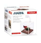 Marina CUBUS Glass Betta Kit, 3.4 L (0.9 U.S. gal)