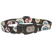 Dogit Style Nylon Print Dog Collar- Da Face, Black, XLarge