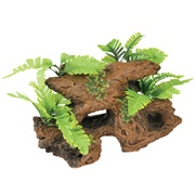 Marina Naturals  Malaysian Decorative Driftwood with Plants, Large
