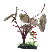 "Fluval Large Red Lotus - 25 cm (10"") with Base"