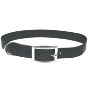 "Dogit Single Ply Nylon Dog Collar with Buckle- Black, XLarge (65cm/26"")"