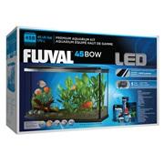 Fluval Premium Aquarium Kit with LED - 45 Bow - 170 L (45 US Gal)