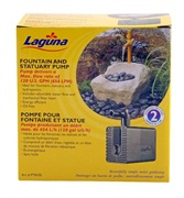 Laguna submersible water pump, for ponds up to 908 L (240 US Gal)