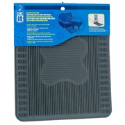 "Catit Cat Pan Litter Mat, Gray, 34 cm x 40.5 cm (13 ¼"" x 16"" )"