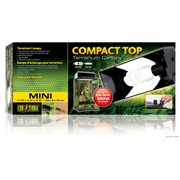 "Exo Terra Compact Top 30 x 9 x 15cm / 11.8"" x 3.5"" x 5.9"""