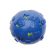 K9 Fitness by Zeus TPR Ball Encasing Tennis Ball - 7.62 cm dia. (3 in dia.)
