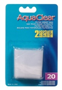 AquaClear Nylon Filter Media Bags for AquaClear 20 Power Filter, 2 pack