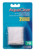 AquaClear Nylon Filter Media Bags for AquaClear 70 Power Filter, 2 pack