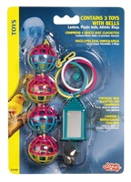 Living World Classic Toy Value Pack  Assortment # 1 For Small Birds