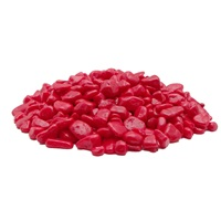 Marina Decorative Aquarium Gravel, Red, 450 g (1 lb)