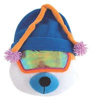 "Dogit Style Winter 2010 Dog Clothing & Toy Collection,   Après-Ski  Bear with Blue Tuque (25.5 cm / 10"")"