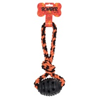 Zeus Bomber Grenade Rubber Dog Toy - 10 x 32 cm