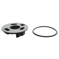 Fluval SEA SP6 S-Pump 1 1/4in Threaded Fitting & Gasket (2 pcs)
