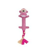 Dogit Stuffies Dog Toy – Branch Friend - Monkey - 44 cm (17.5 in)