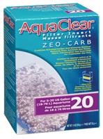 AquaClear 20 Zeo-Carb Filter Insert, 55 g (1.9 oz)