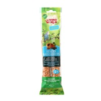 Living World Budgie Sticks, Fruit Flavor, 60 g (2 oz),2-pack