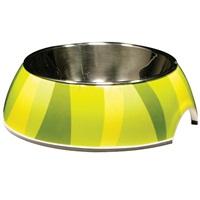Catit Style  2-in-1 Cat Dish, Jungle Stripes (160ml / 5.4 fl oz)