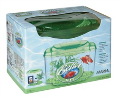 Marina Plastic Betta Kit Green, 1.89L (0.5 U.S. gal)