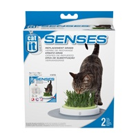 Catit Design Senses Grass Garden Kit, Grass Refill ( 2-pack)