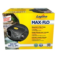 Laguna Max-Flo 2400 Waterfall & Filter Pump - For ponds up to 4800 U.S. gal (18000 L)