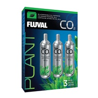 Fluval 95 g CO2 Disposable CO2 Cartridges - 3 pack