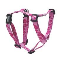 Dogit Style Adjustable Dog Harness, Aloha, Pink, Medium