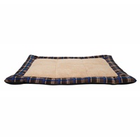 Dogit DreamWell Dog Sleeping Mat - Blue Tartan - 80 x 60 x 4 cm (31 x 23.5 x 1.5 cm)
