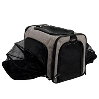Dogit Explorer Soft Carrier Expandable Carry Bag - Gray