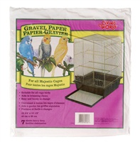 Living World Gravel Paper 8-pack40 cm x 39 cm, Large